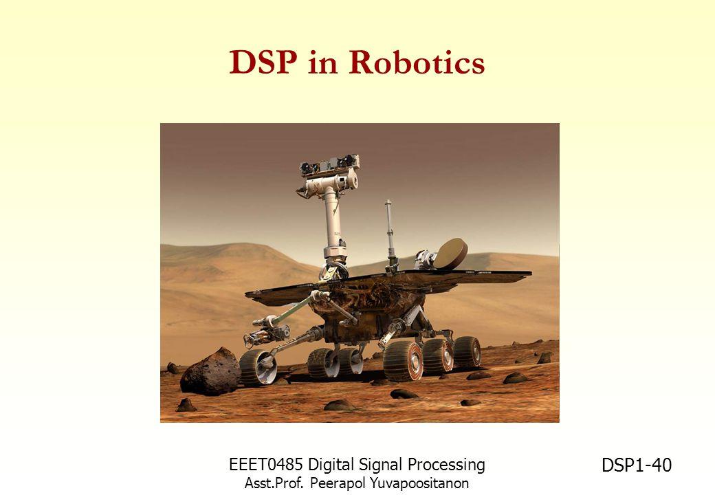 DSP in Robotics EEET0485 Digital Signal Processing