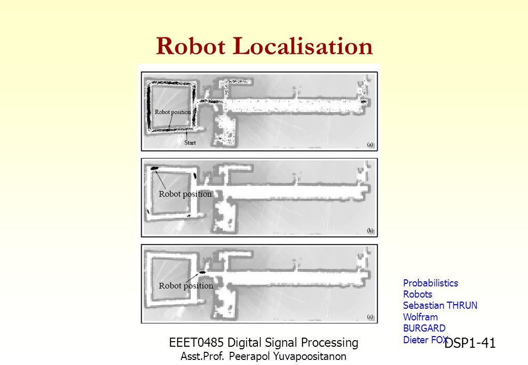 Robot Localisation EEET0485 Digital Signal Processing