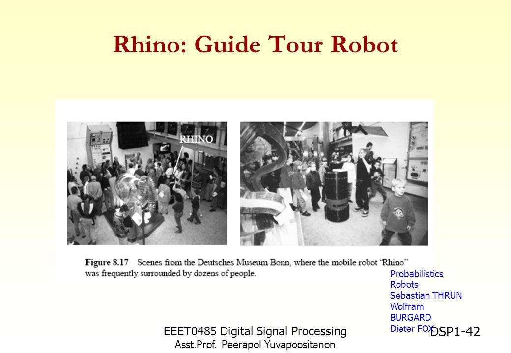 Rhino: Guide Tour Robot