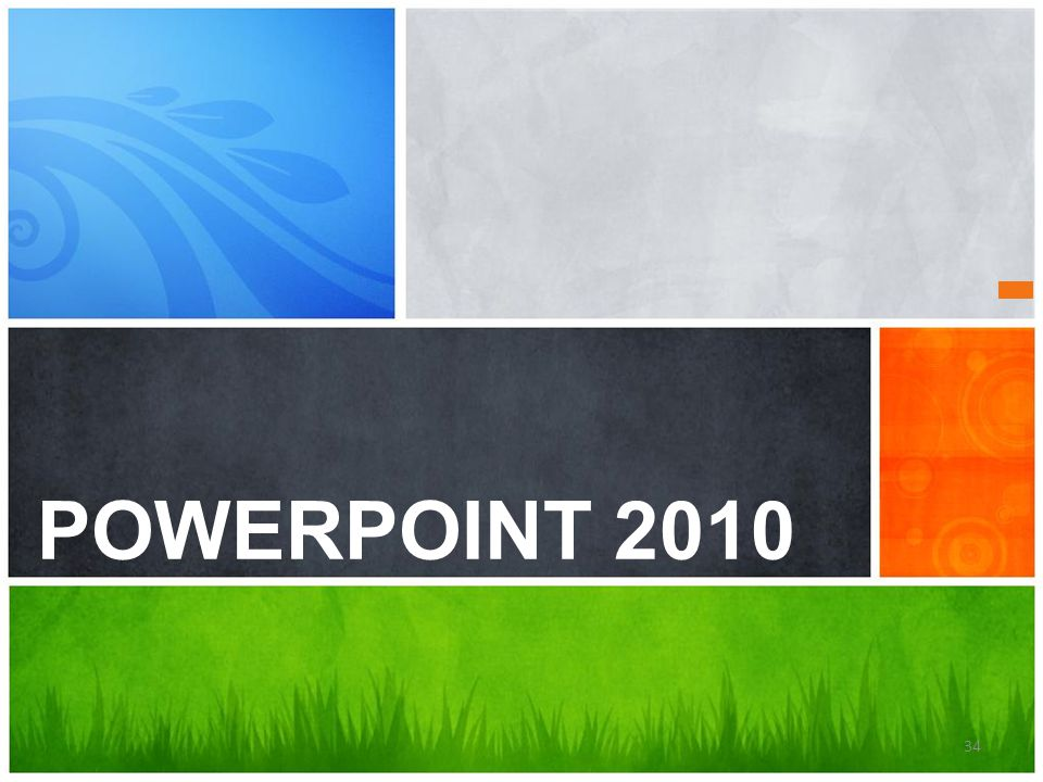 POWERPOINT 2010 What's Your Message