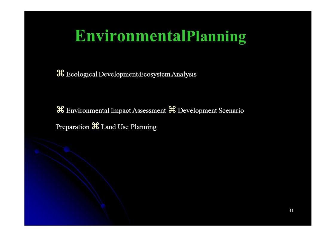 EnvironmentalPlanning