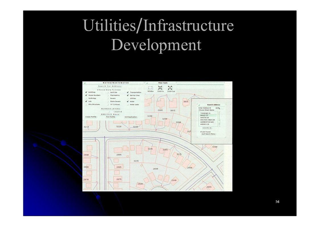 Utilities/Infrastructure Development