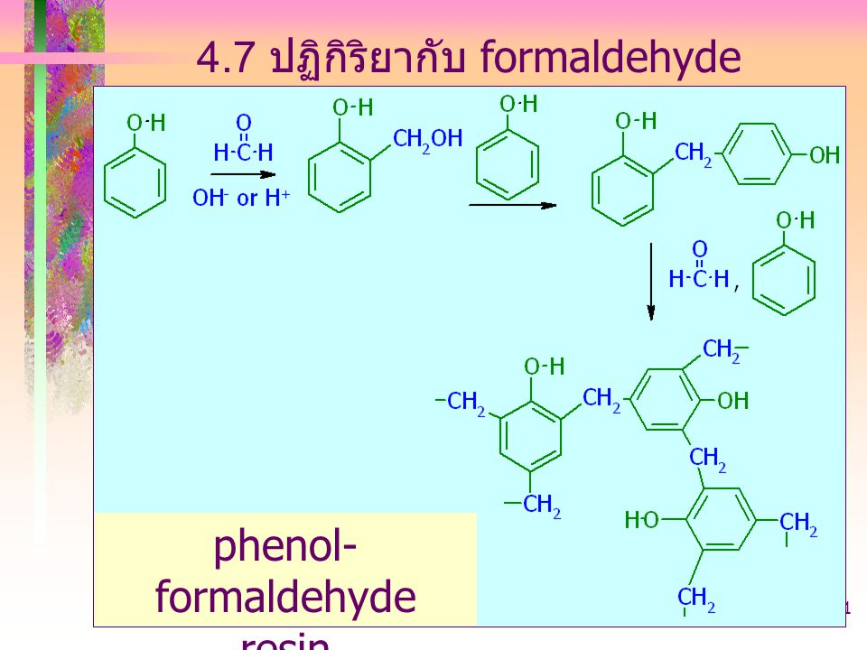 phenol-formaldehyde resin