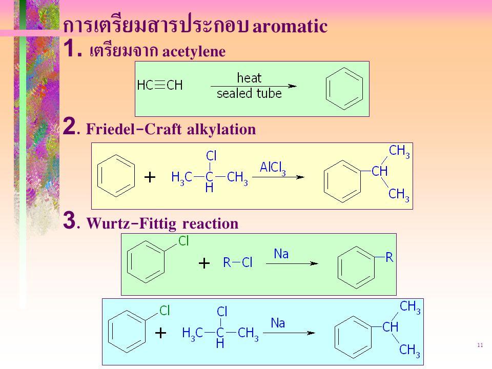 การเตรียมสารประกอบ aromatic
