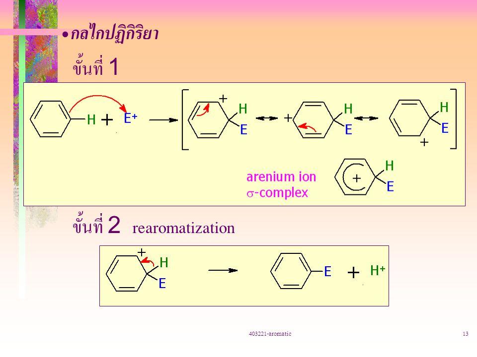 ขั้นที่ 2 rearomatization