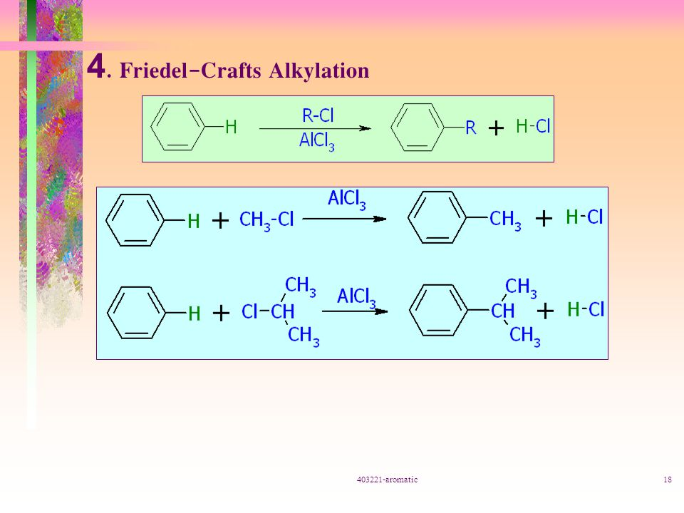 4. Friedel-Crafts Alkylation