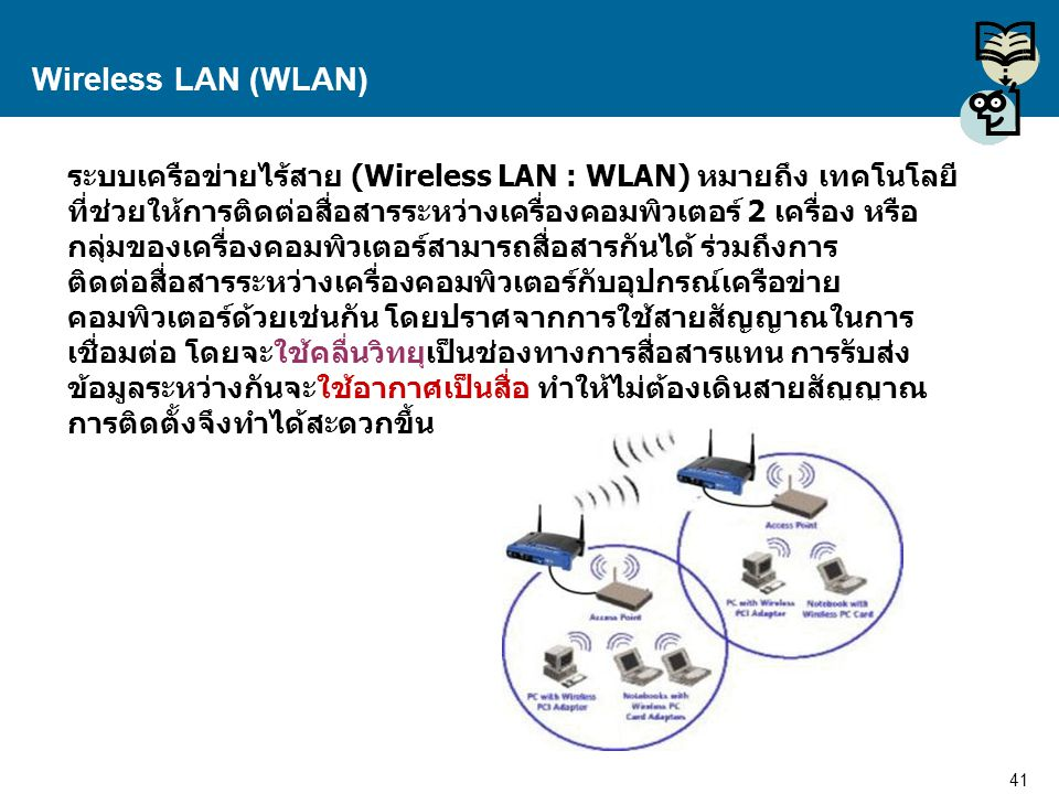 Wireless LAN (WLAN)