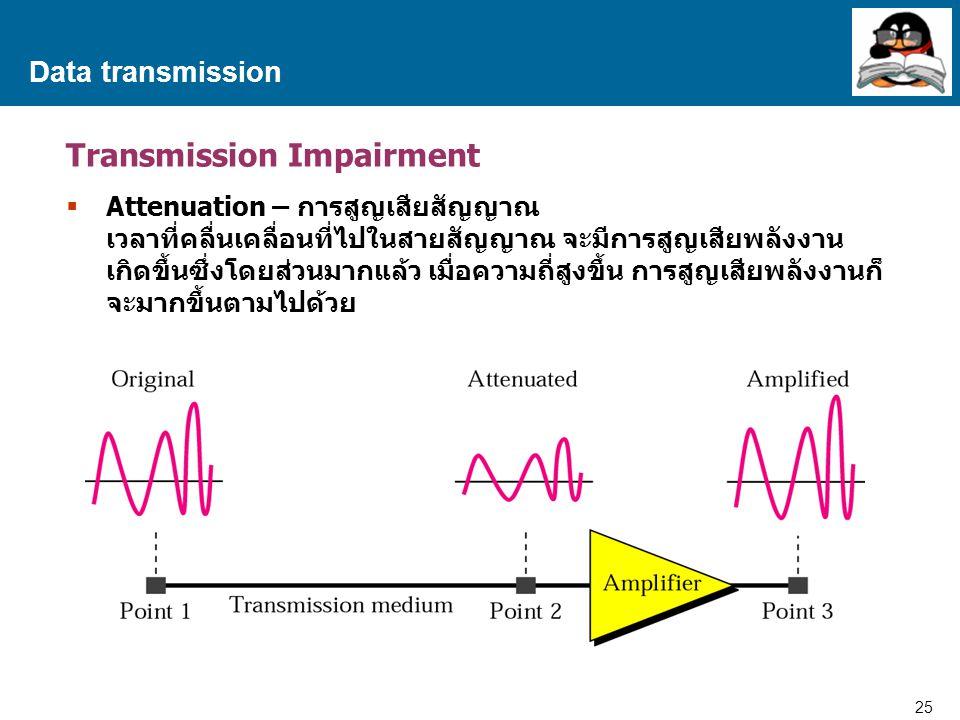 Transmission Impairment