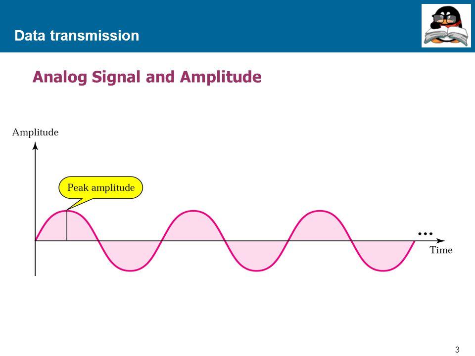 Analog Signal and Amplitude
