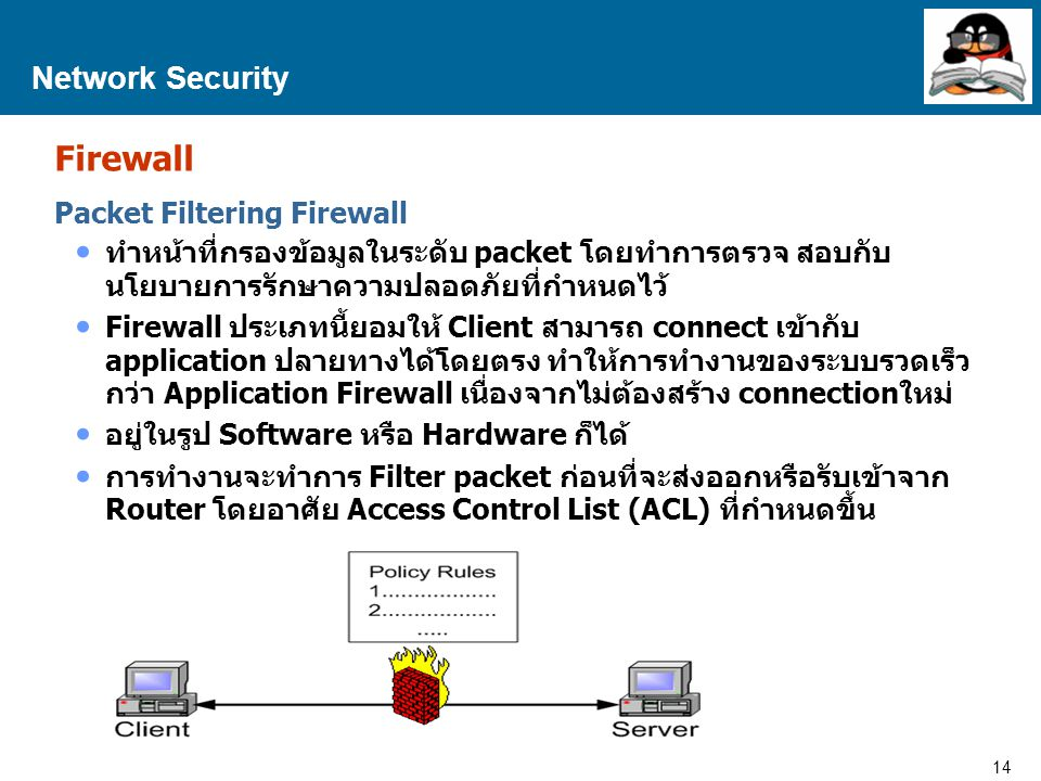 Firewall Network Security Packet Filtering Firewall