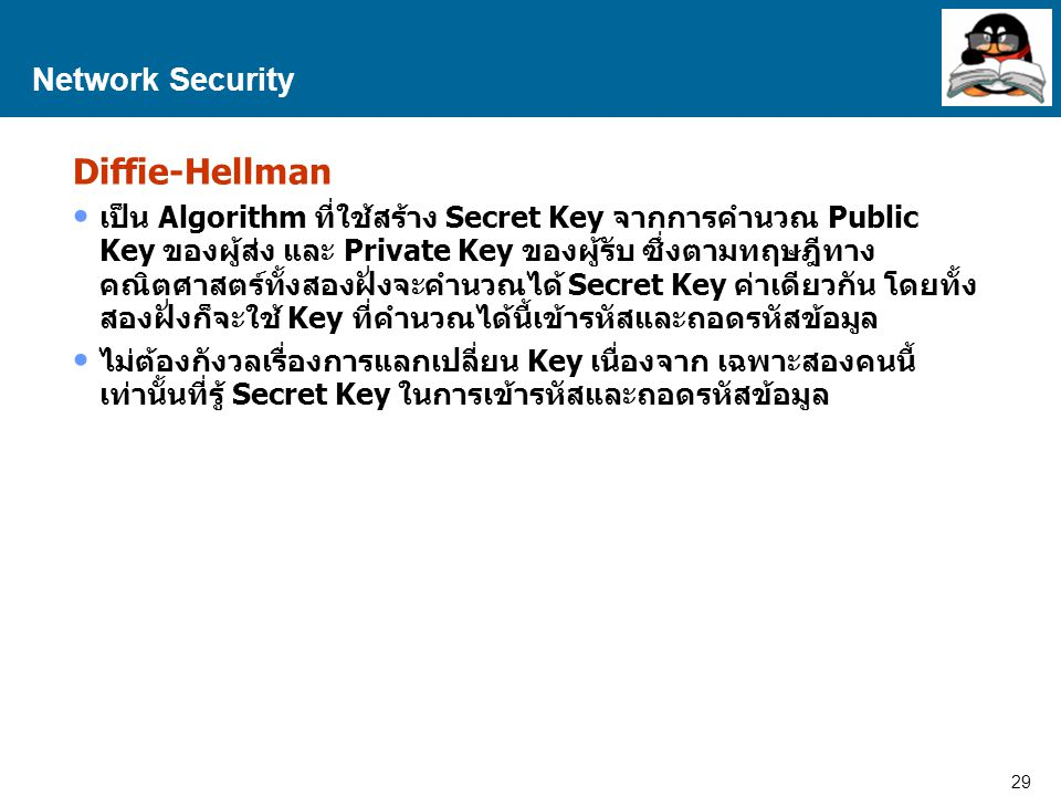 Diffie-Hellman Network Security