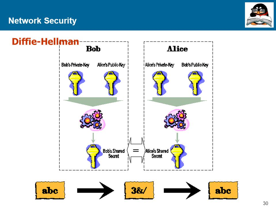 Network Security Diffie-Hellman