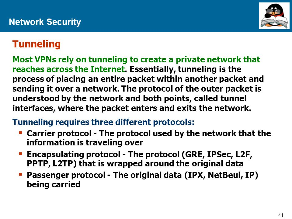 Tunneling Network Security