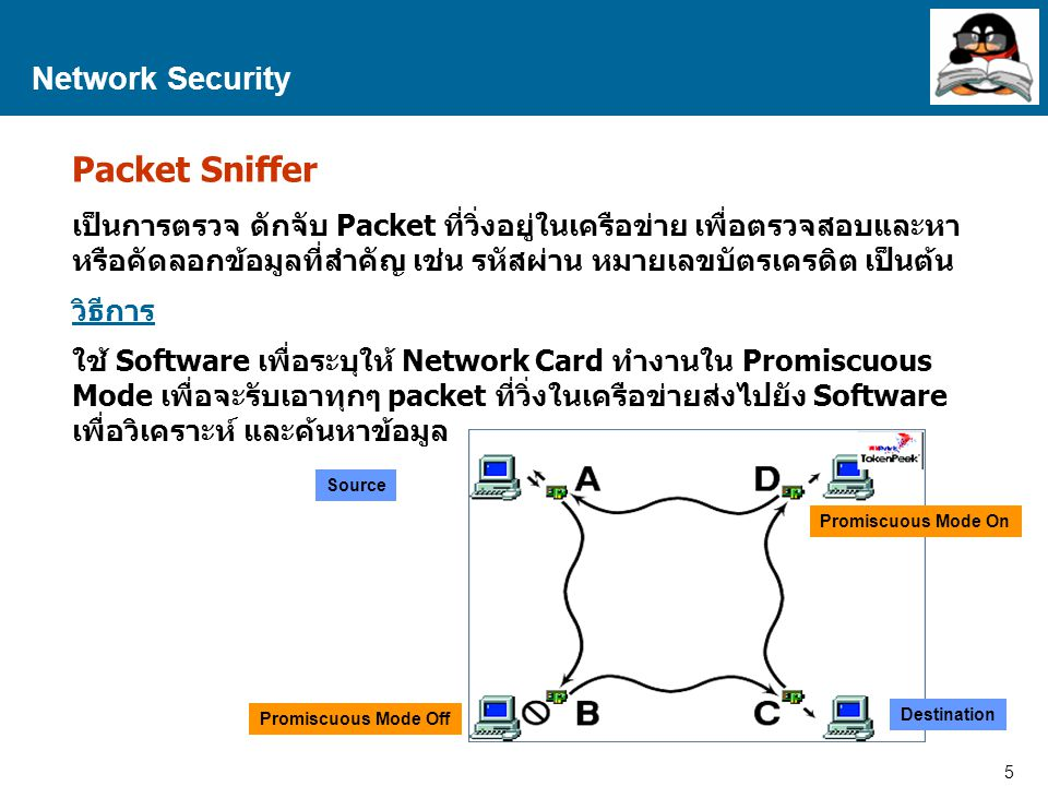 Packet Sniffer Network Security