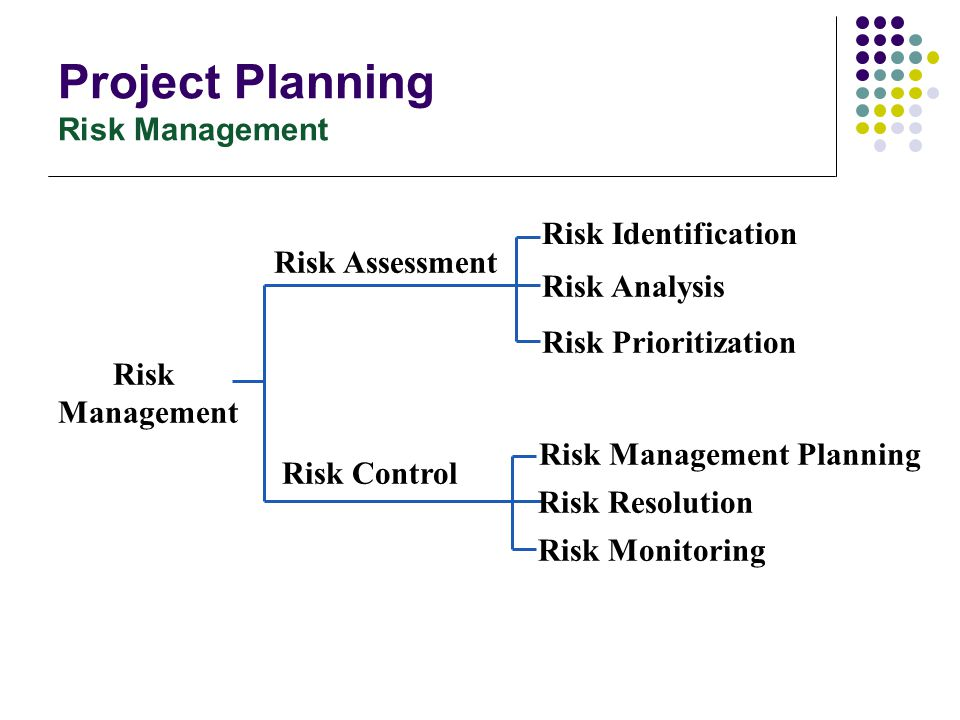 Project Planning Risk Management