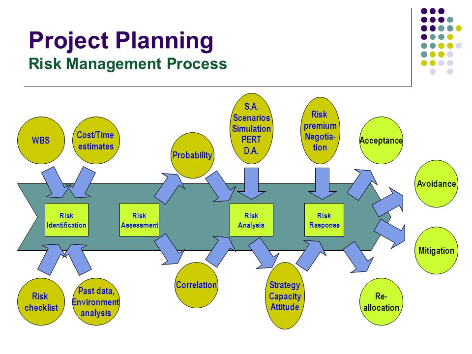Project Planning Risk Management Process