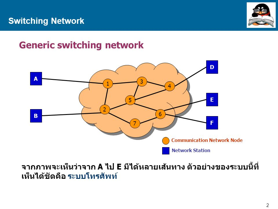 Generic switching network
