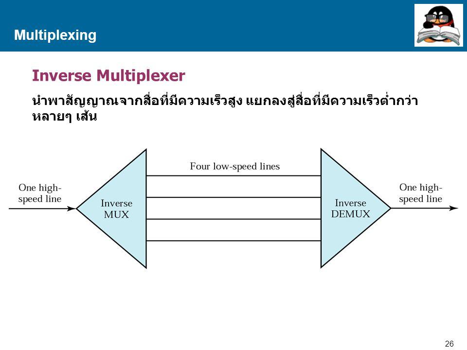 Inverse Multiplexer Multiplexing