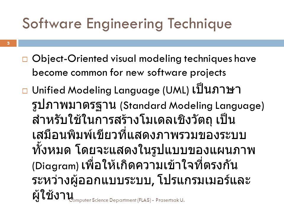 Software Engineering Technique