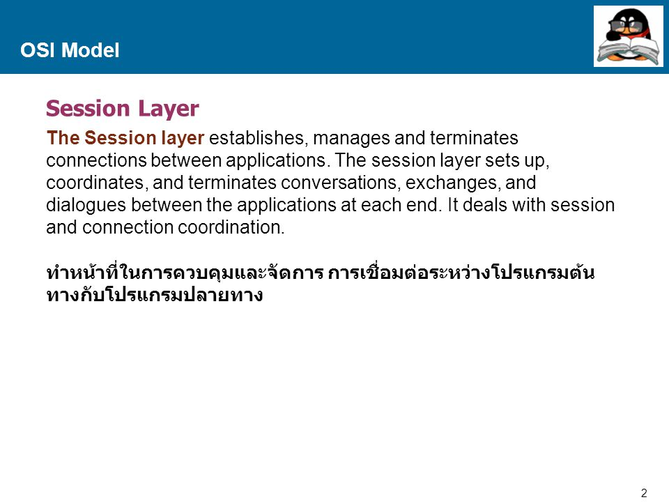 Session Layer OSI Model
