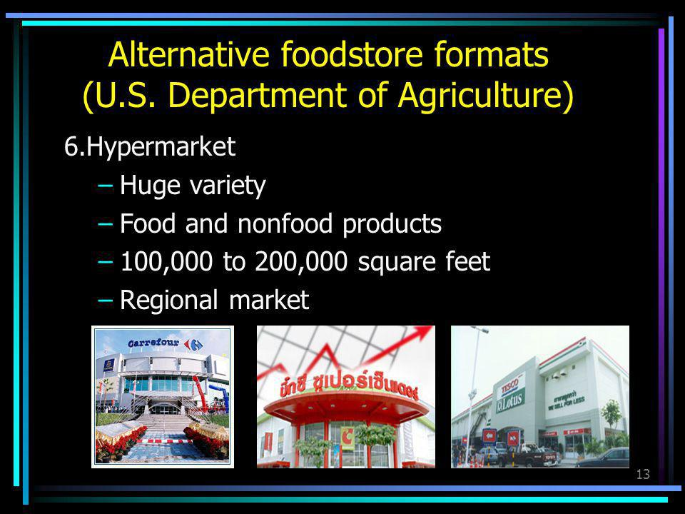 Alternative foodstore formats (U.S. Department of Agriculture)