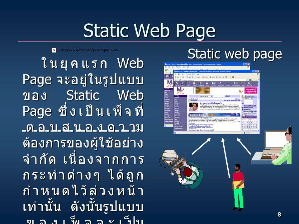 Static Web Page Static web page