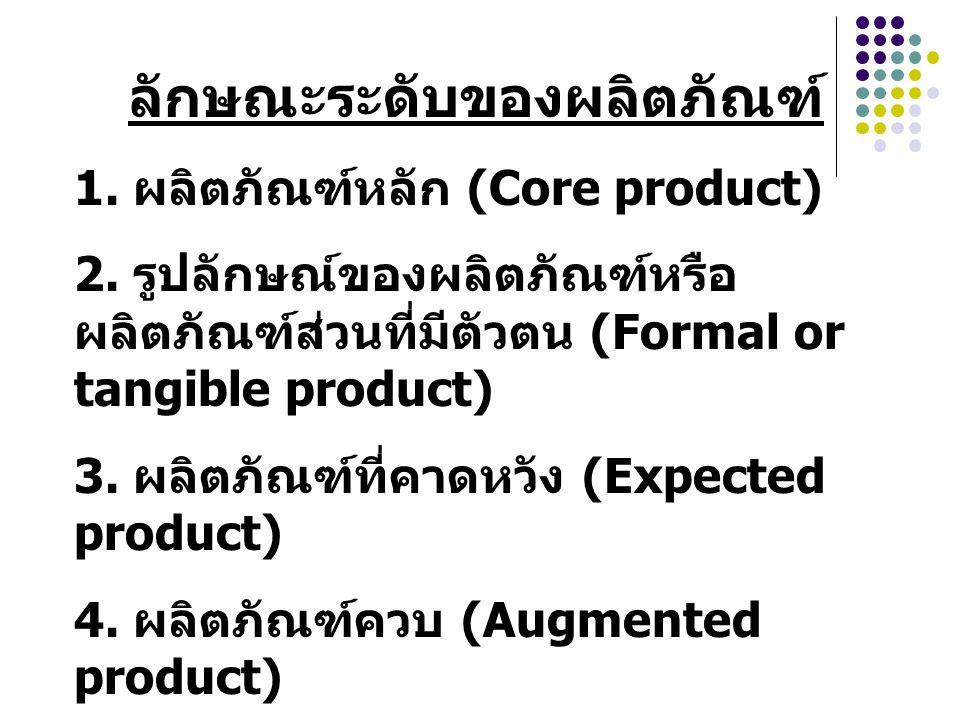ลักษณะระดับของผลิตภัณฑ์