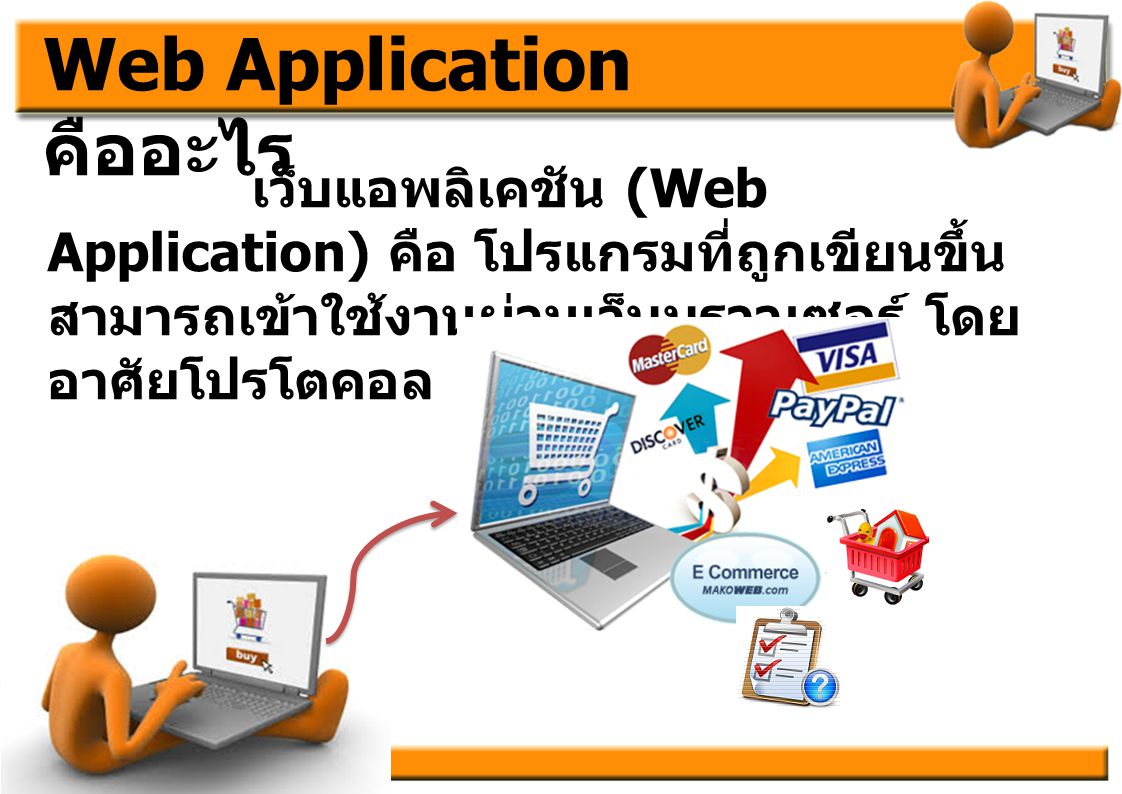 Web Application คืออะไร