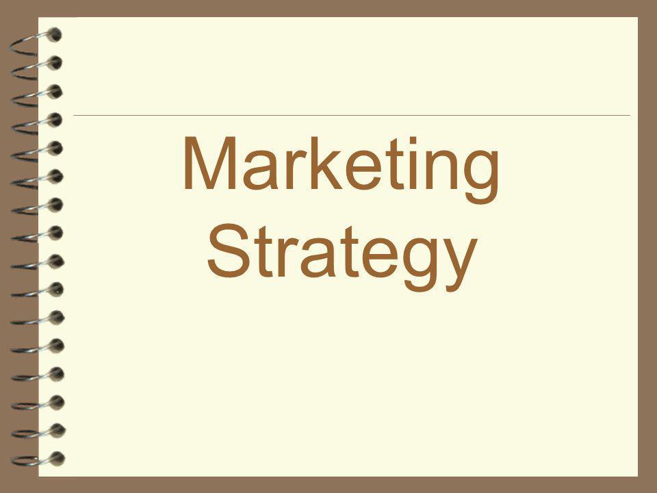 * Marketing Strategy *