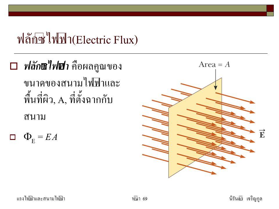 ฟลักซ์ไฟฟ้า(Electric Flux)