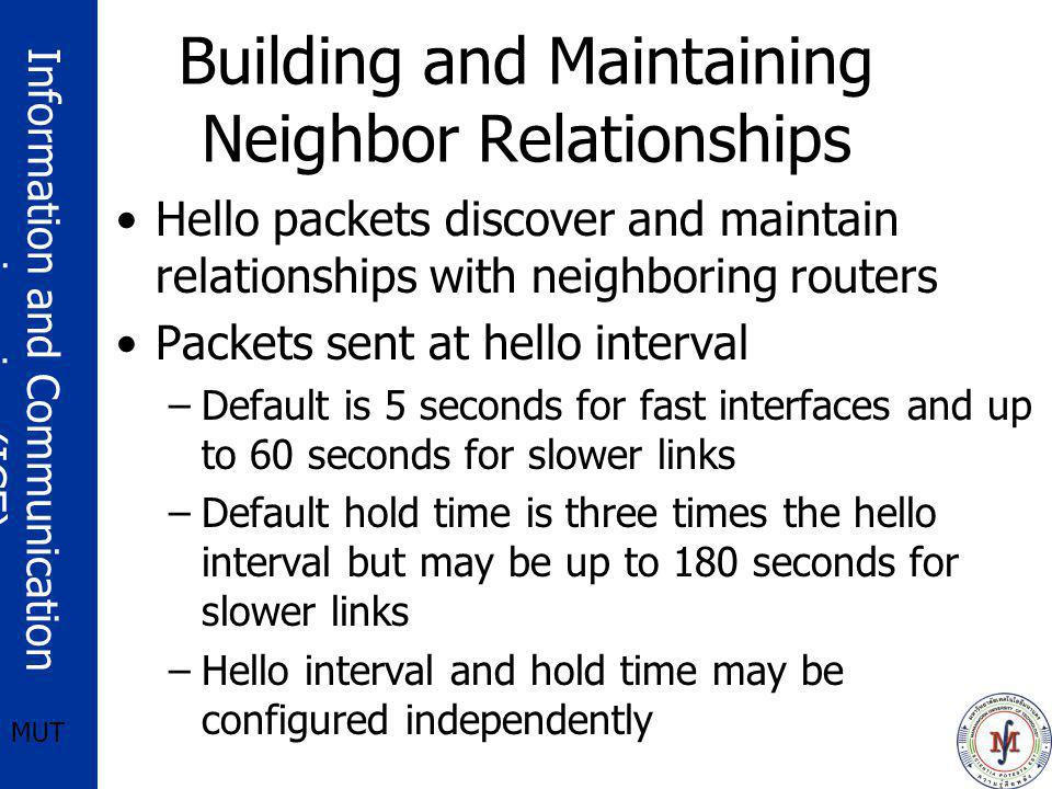 Building and Maintaining Neighbor Relationships