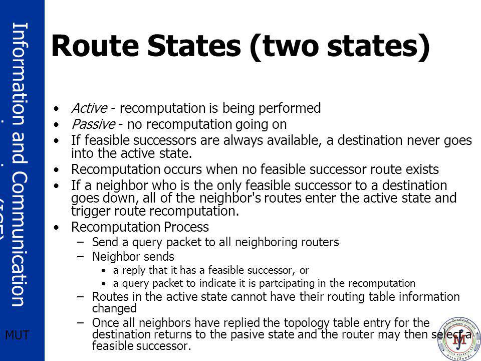 Route States (two states)