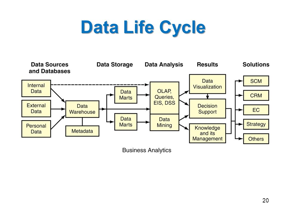 Data Life Cycle