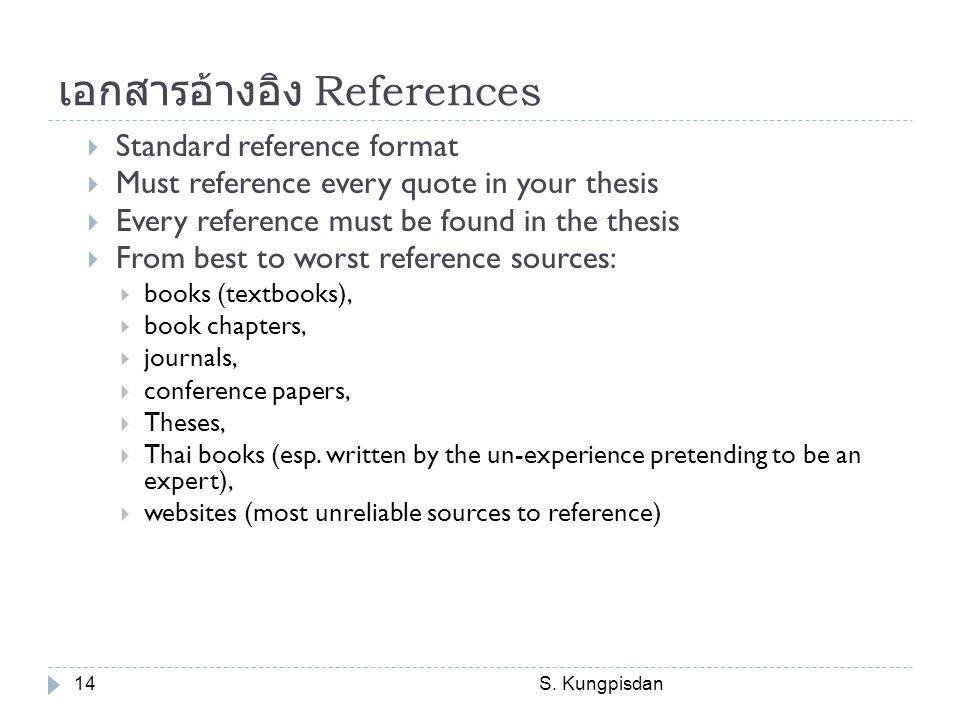 เอกสารอ้างอิง References