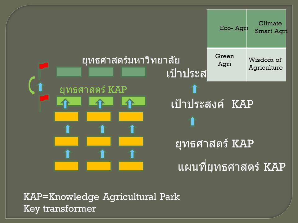 เป้าประสงค์ เป้าประสงค์ KAP ยุทธศาสตร์ KAP แผนที่ยุทธศาสตร์ KAP