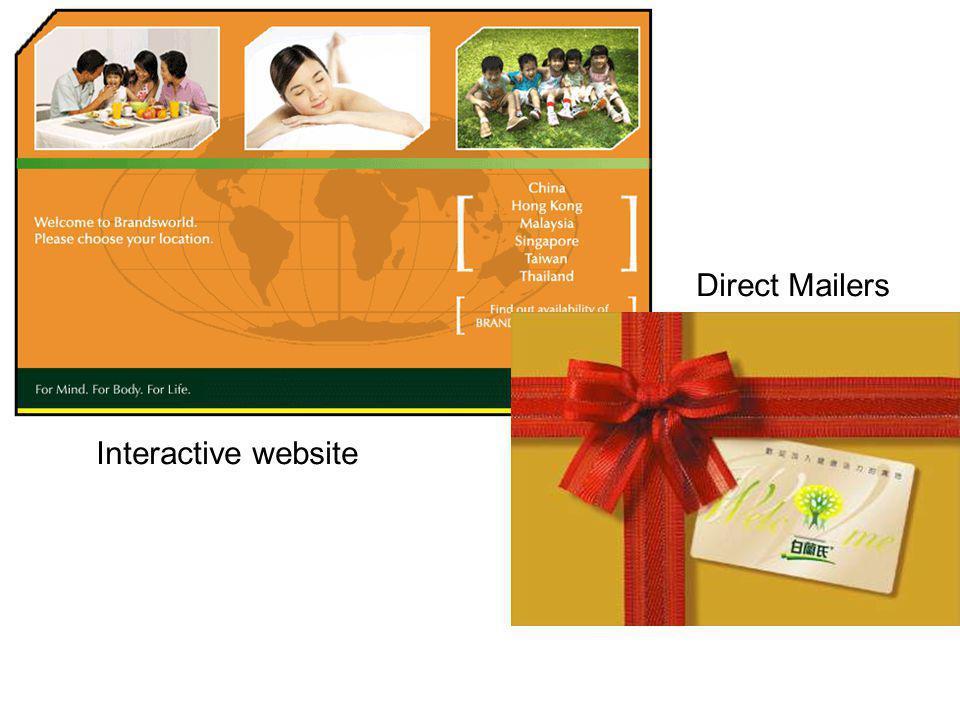 Direct Mailers Interactive website