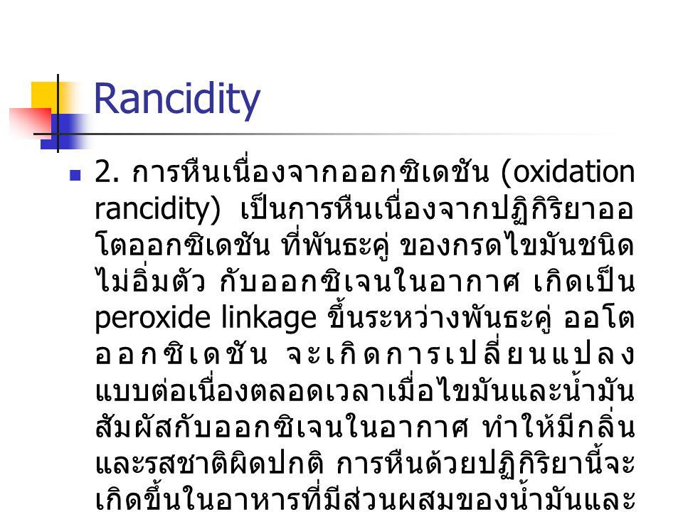 Rancidity