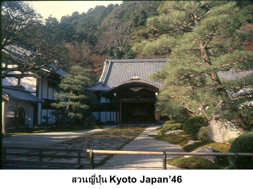 สวนญี่ปุ่น Kyoto Japan'46