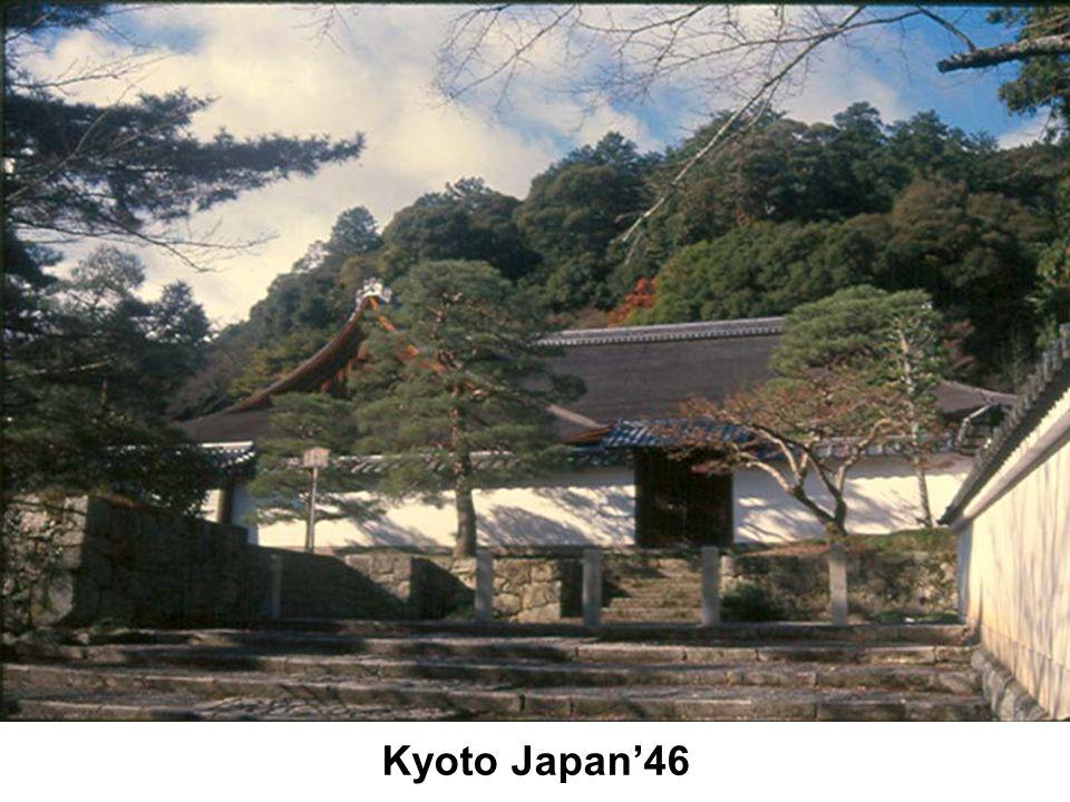 Kyoto Japan'46