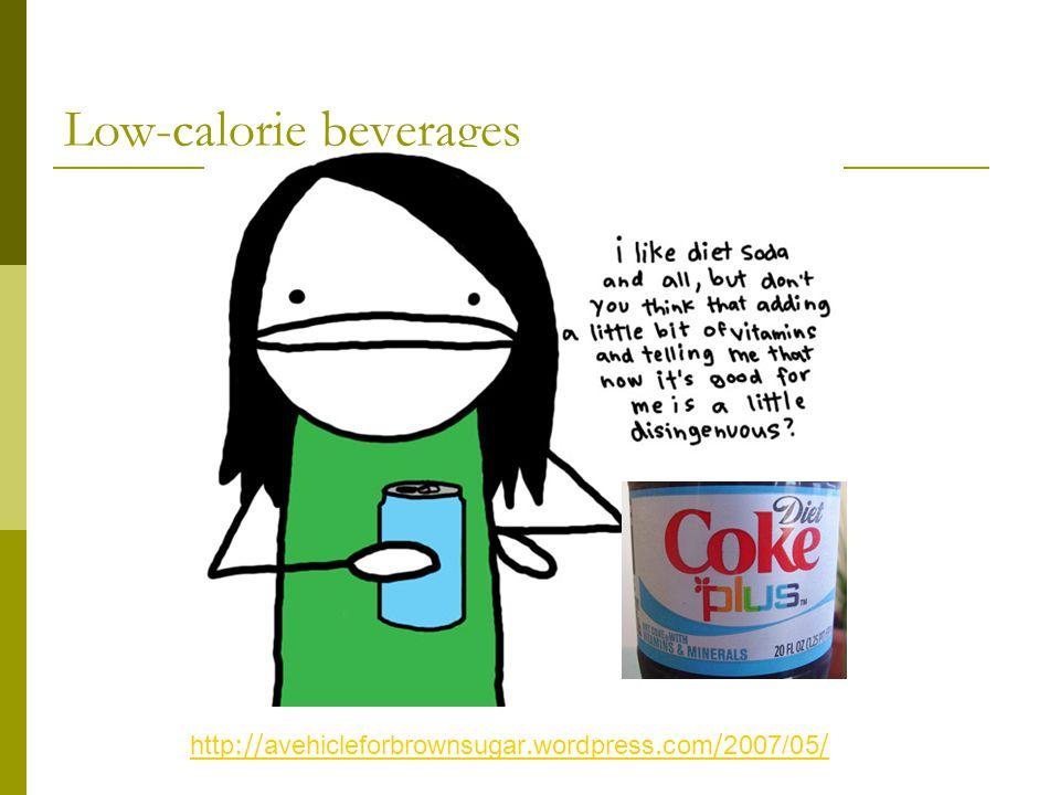 Low-calorie beverages