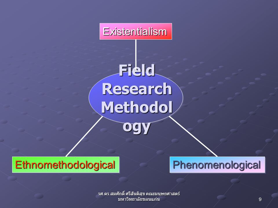 Field Research Methodology