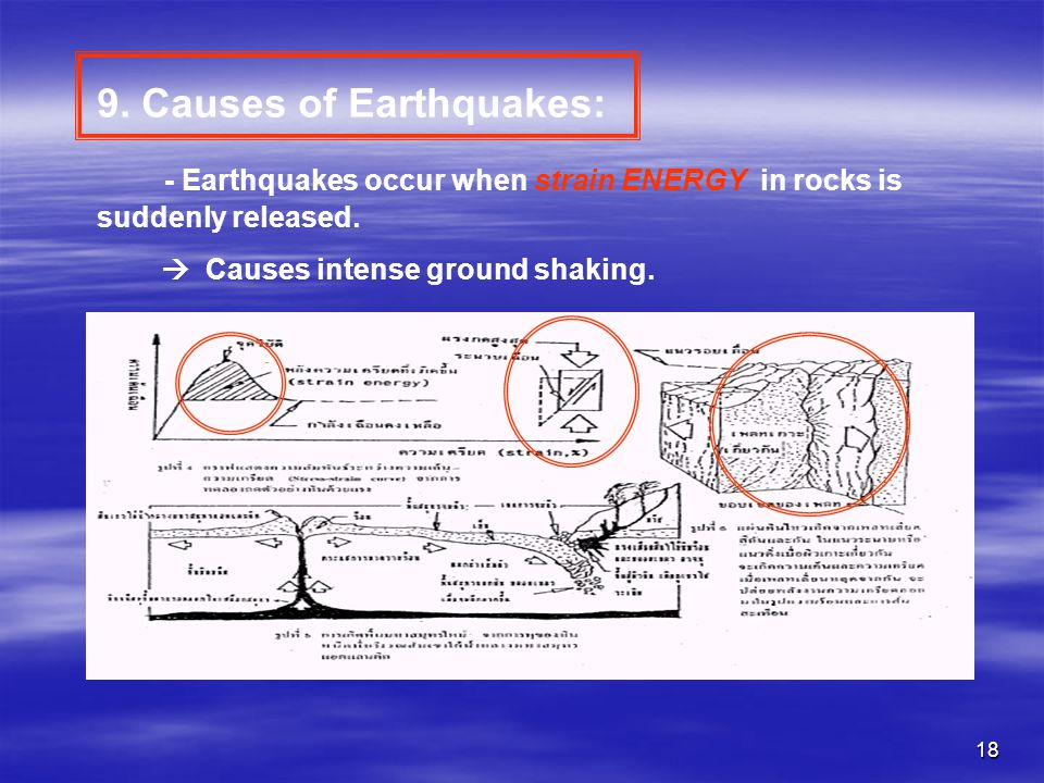 9. Causes of Earthquakes: