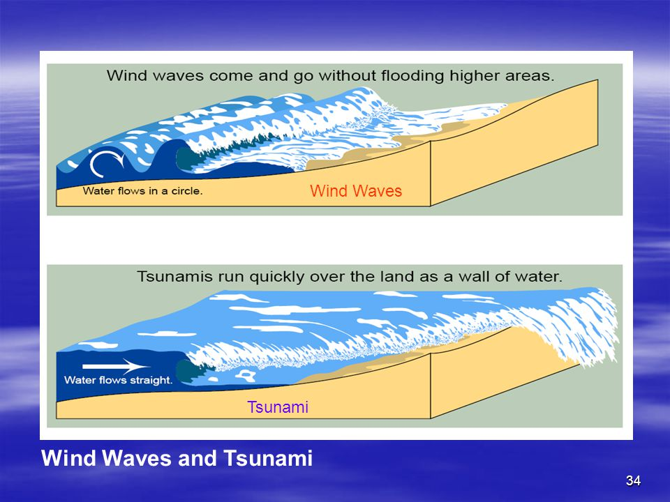 Wind Waves Tsunami Wind Waves and Tsunami