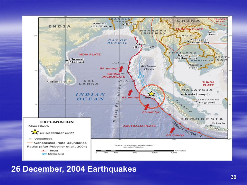 26 December, 2004 Earthquakes