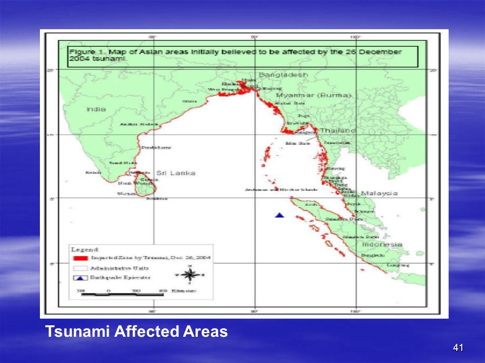 Tsunami Affected Areas