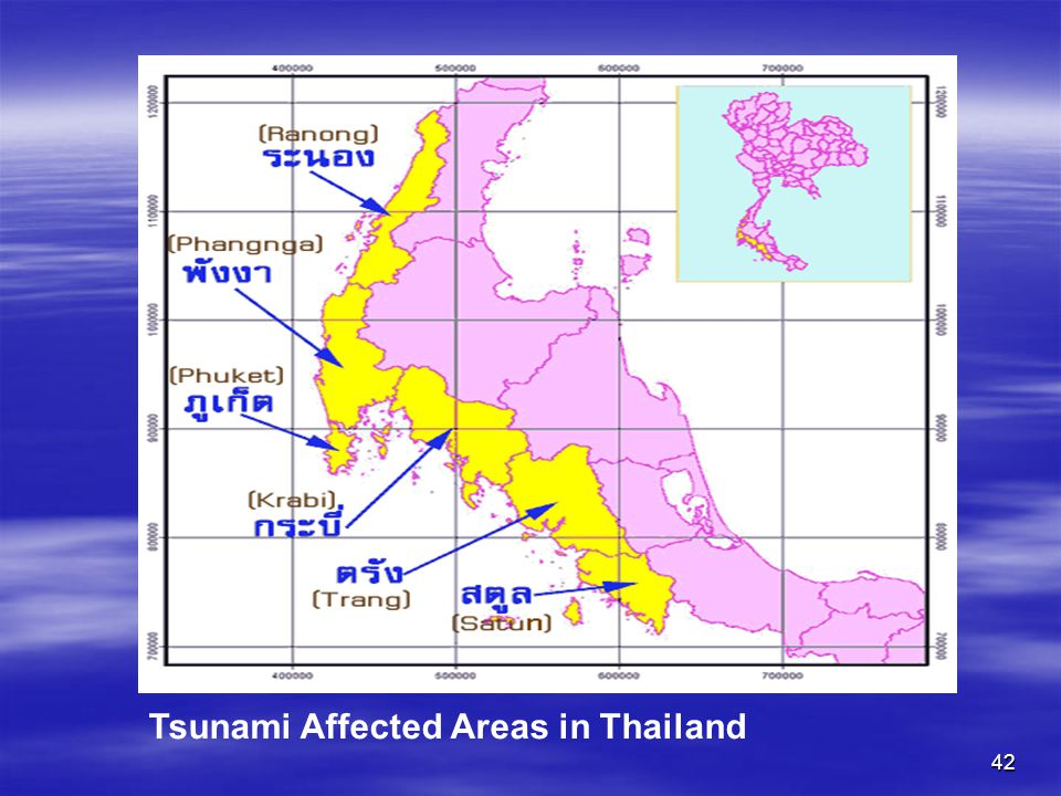 Tsunami Affected Areas in Thailand
