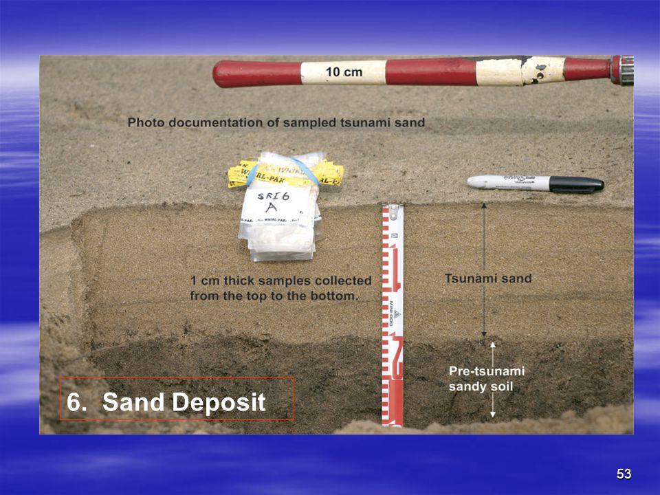 6. Sand Deposit
