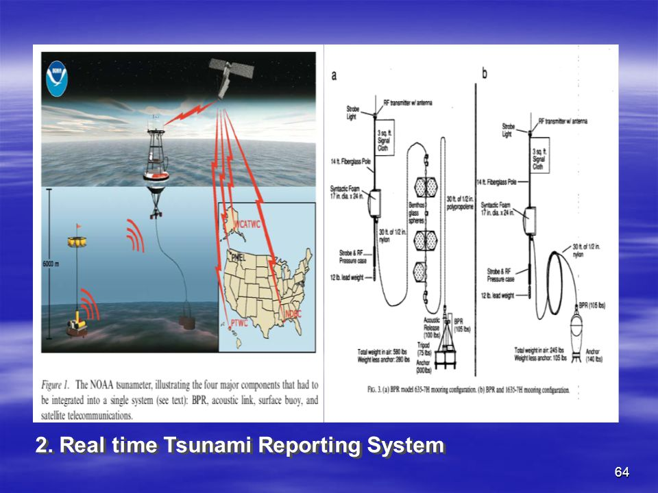 2. Real time Tsunami Reporting System
