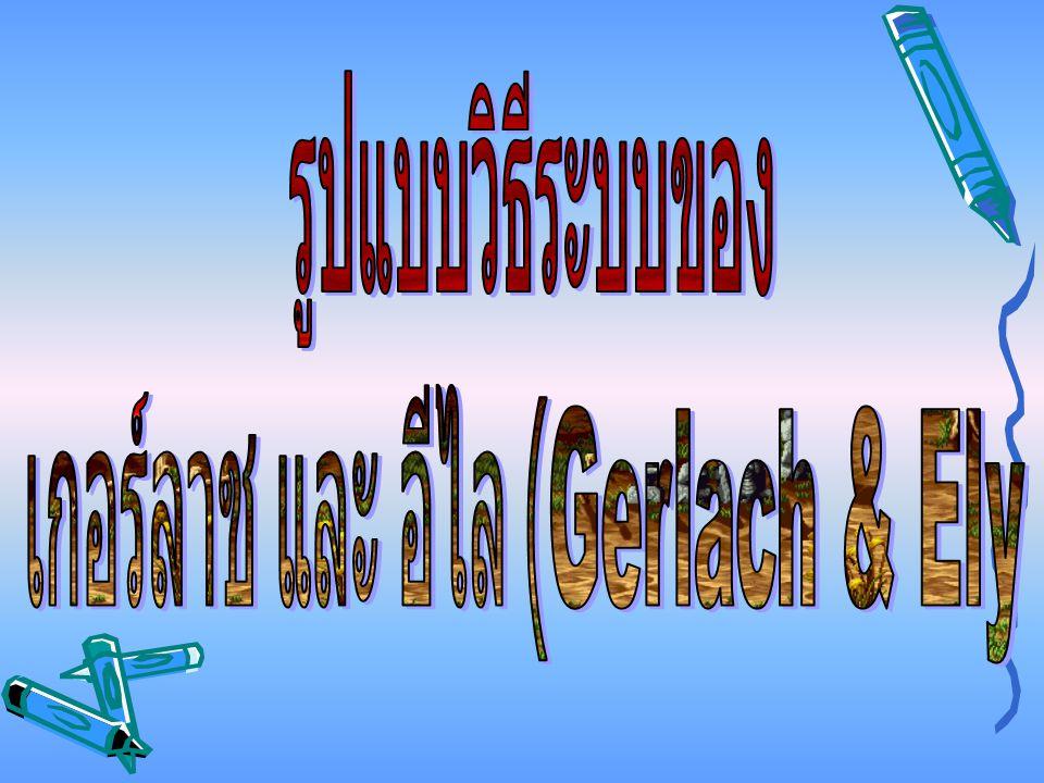เกอร์ลาช และ อีไล (Gerlach & Ely