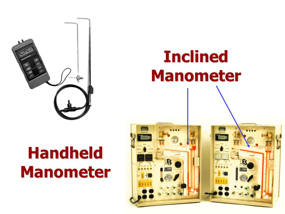 Inclined Manometer Handheld Manometer